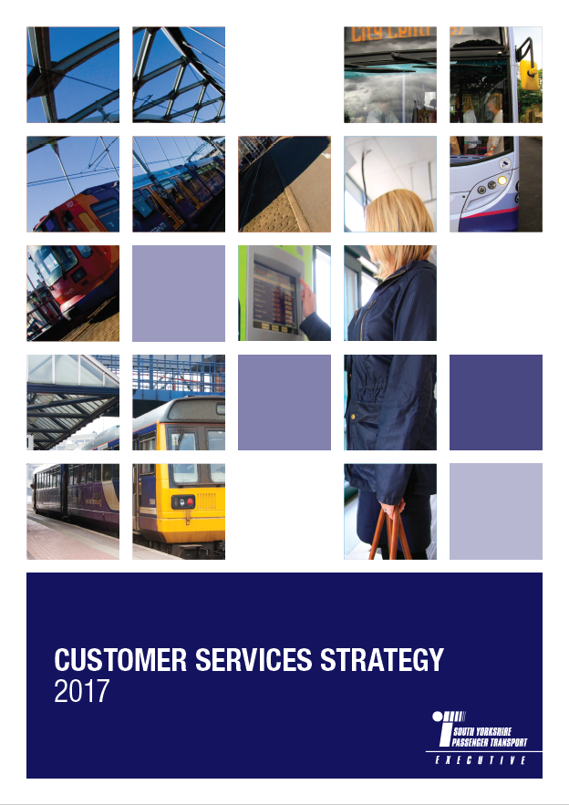 Front cover of Customer Service Strategy Document