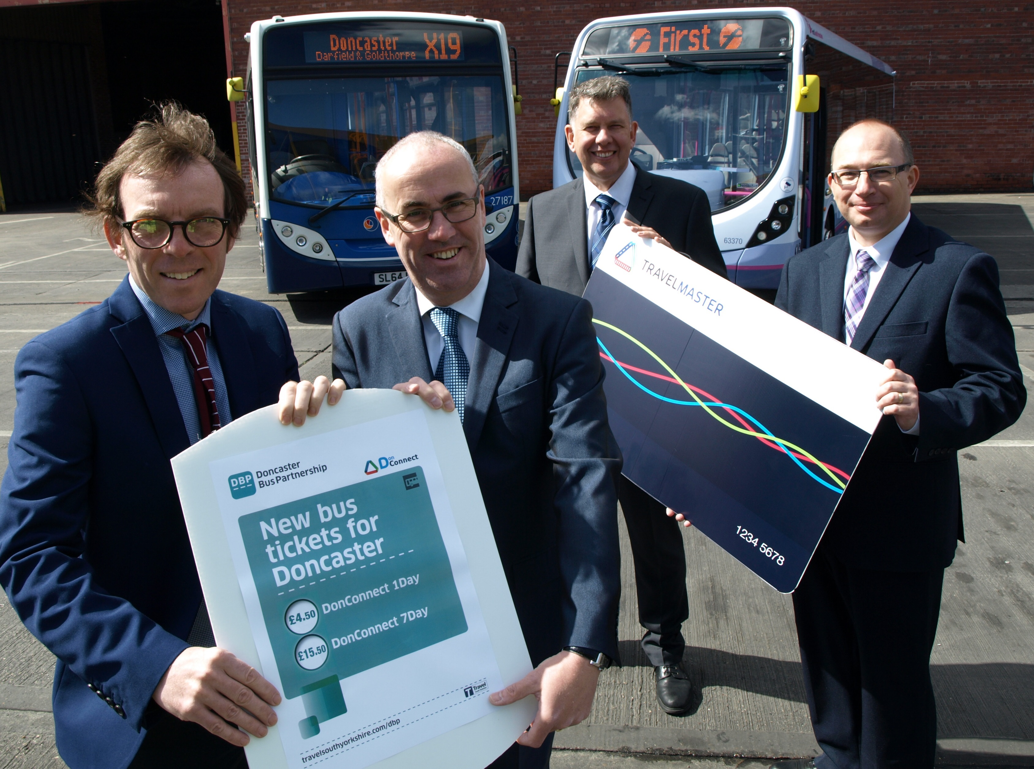 New dawn for Doncaster buses
