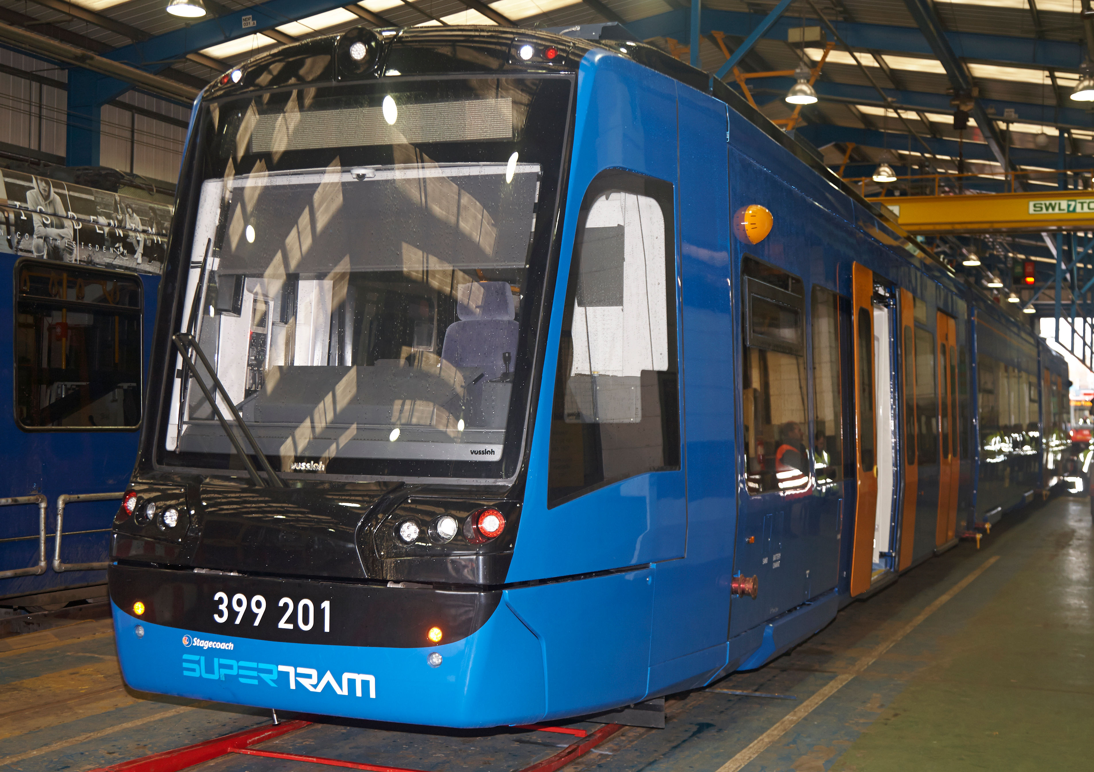 UK's First Tram Train Unveiled in Sheffield