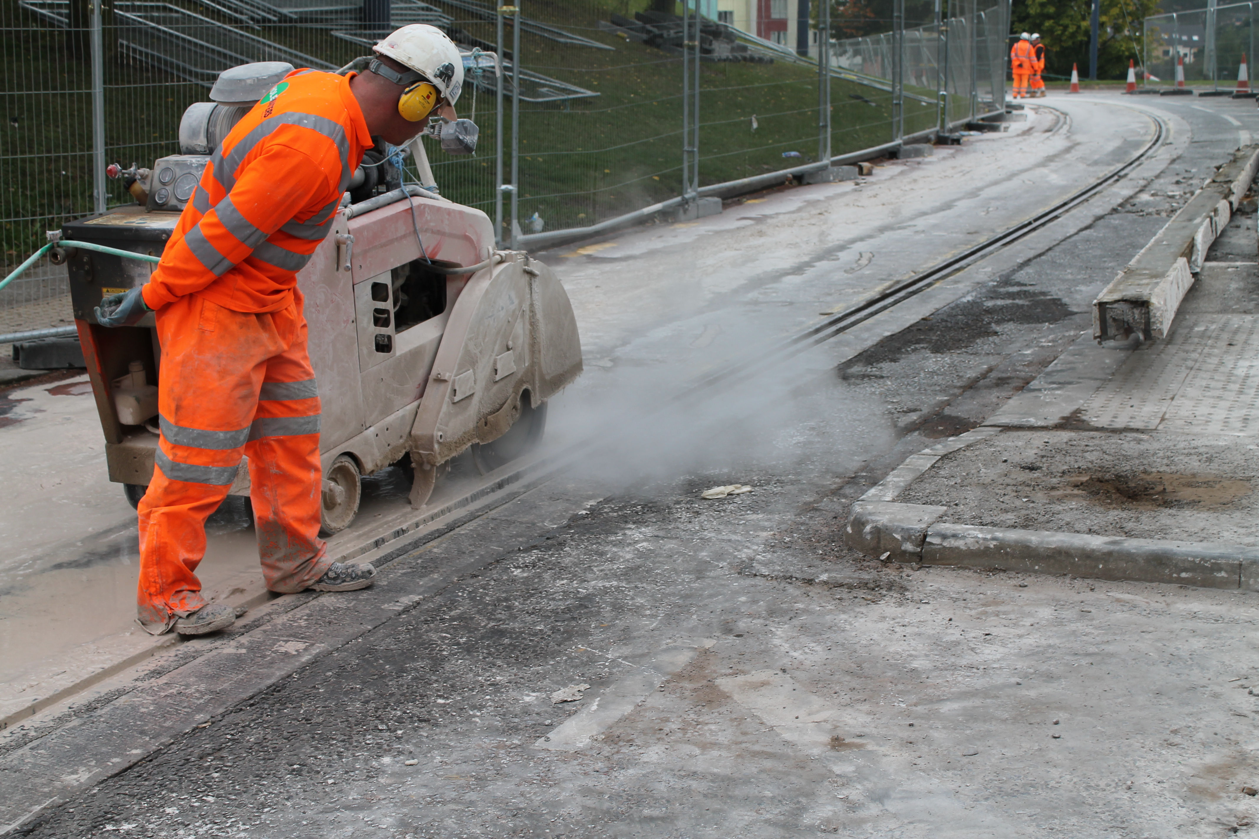 Supertram Rail Replacement works will affect Blue route on its final stage