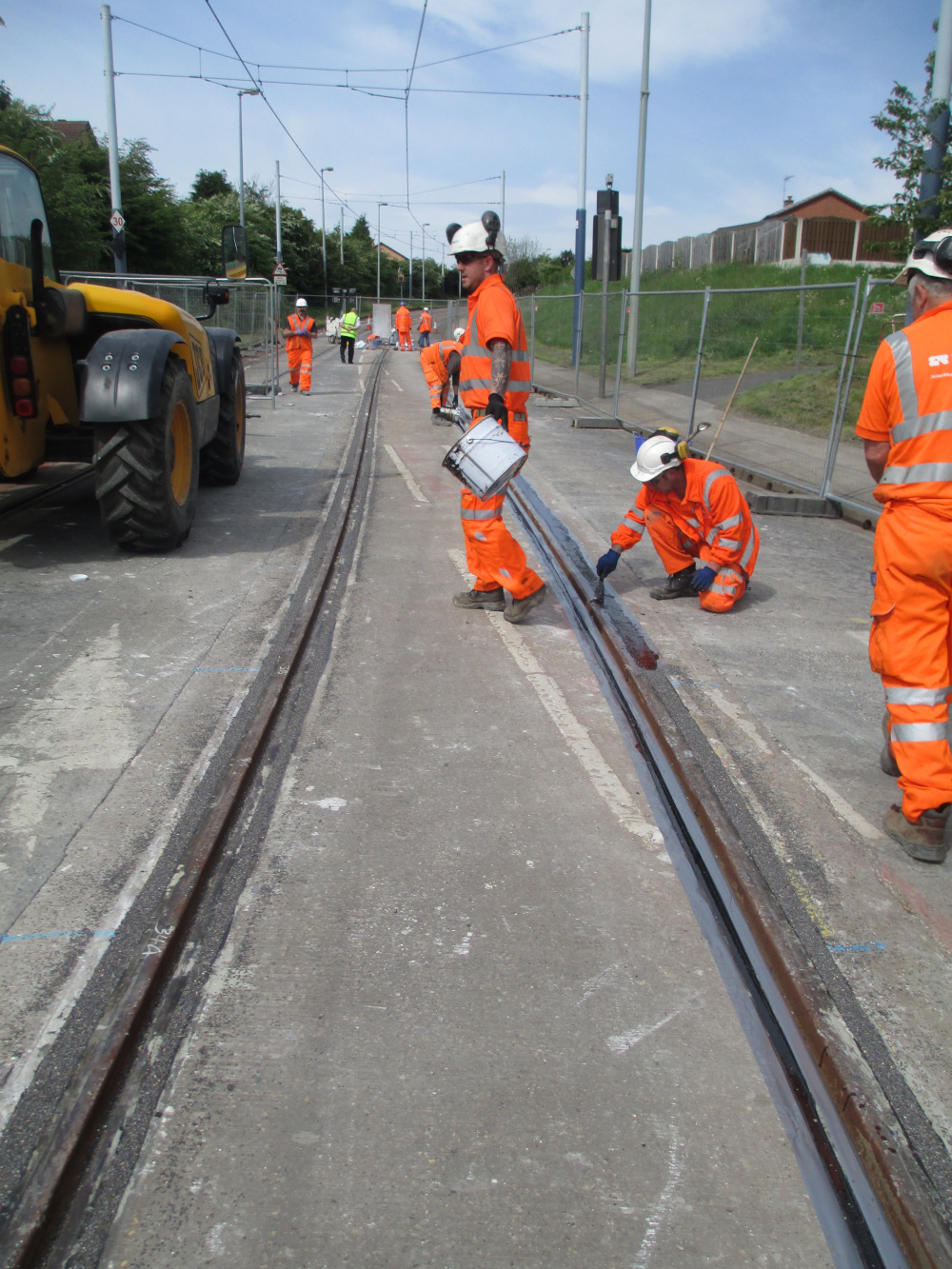 Essential Tram Train weekend works continue