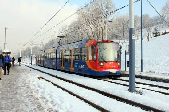 Public transport - plan ahead in wintry weather
