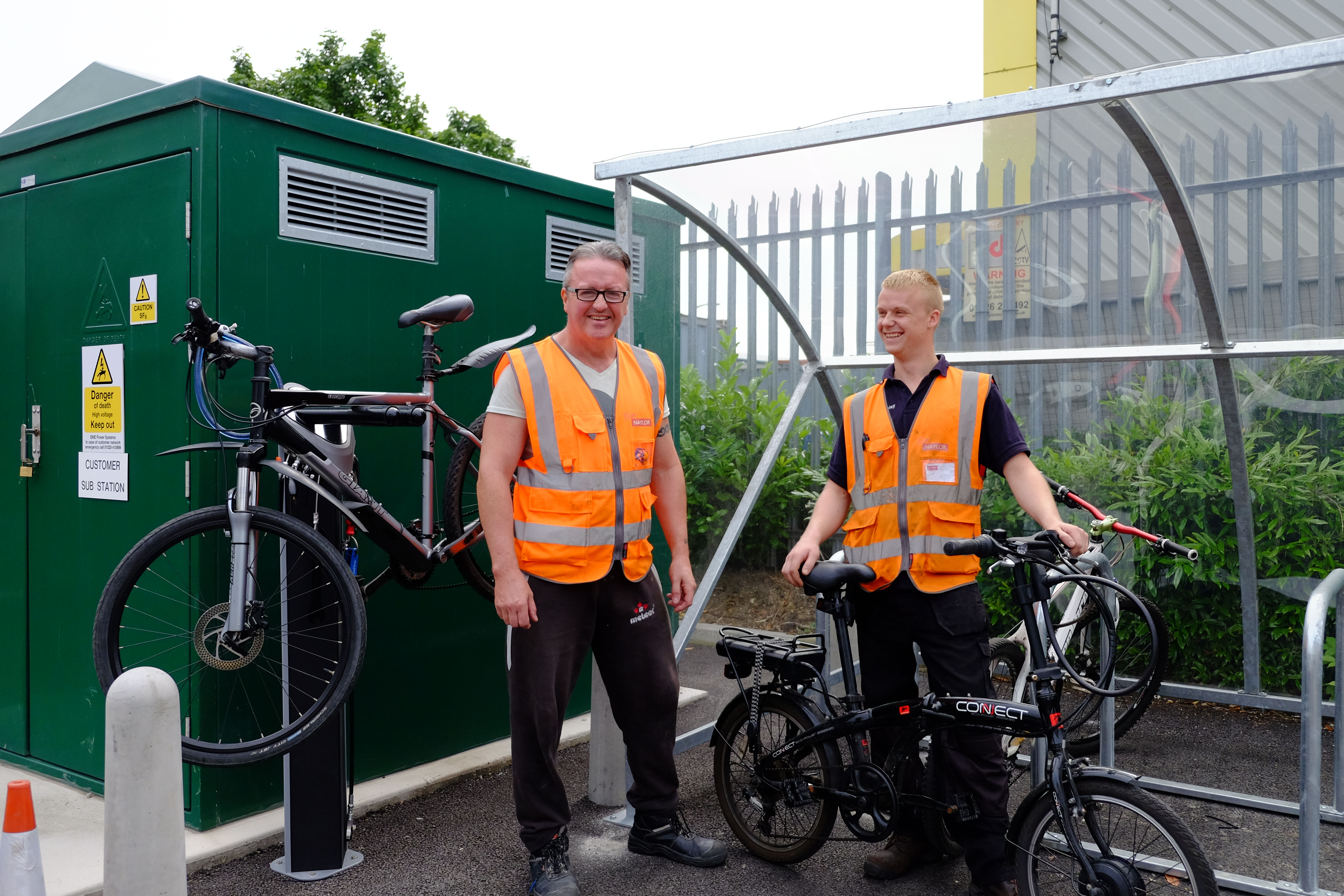 Naylor Industries in Barnsley gives staff a bicycle boost ready for Cycle September