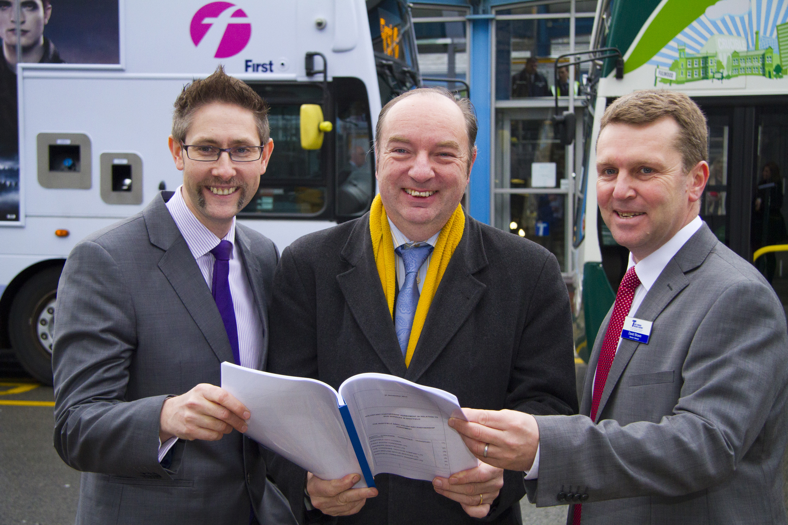 Transport Minister endorses Sheffield bus deal