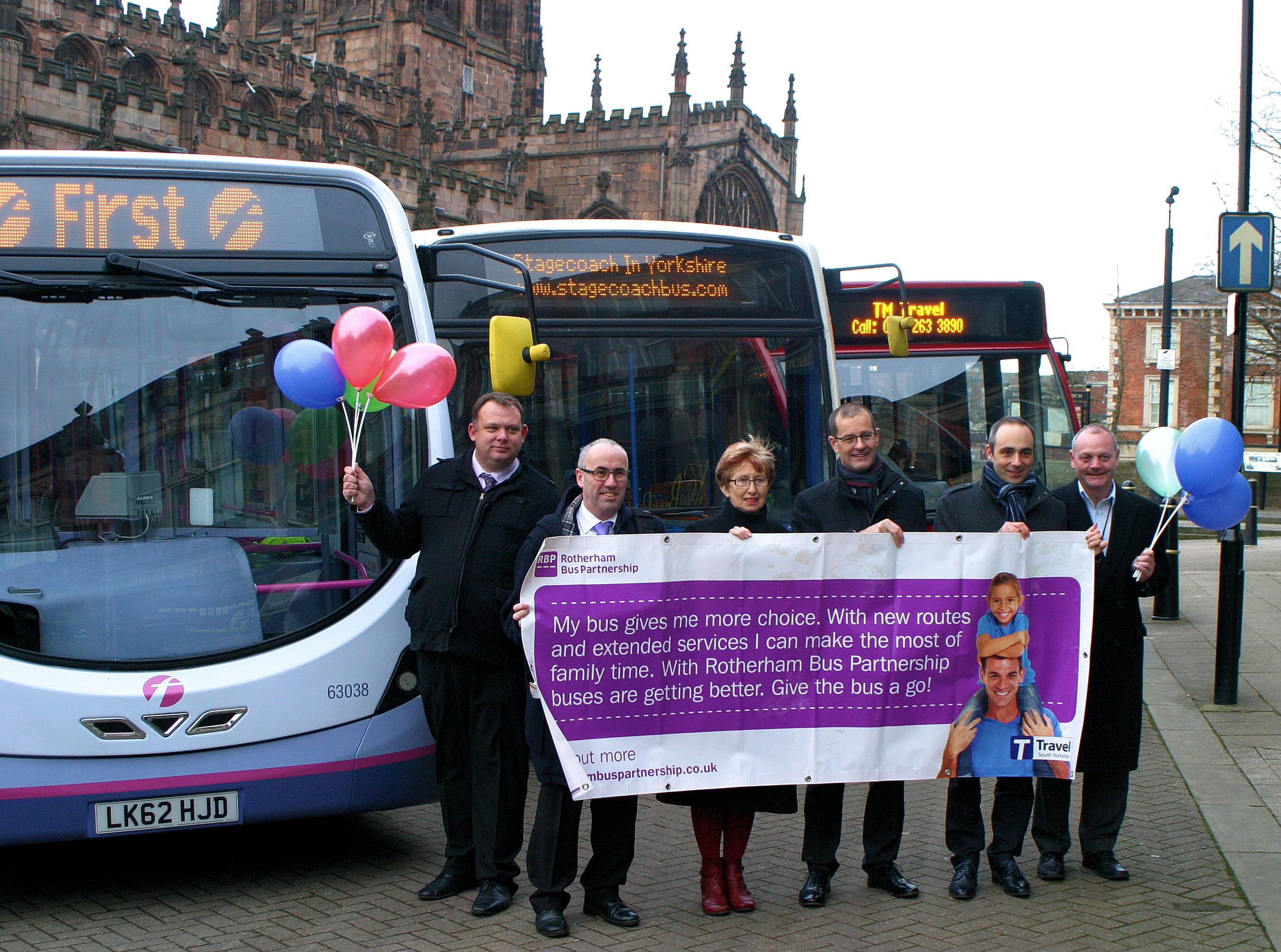 Rotherham Bus Users Continue to Rise