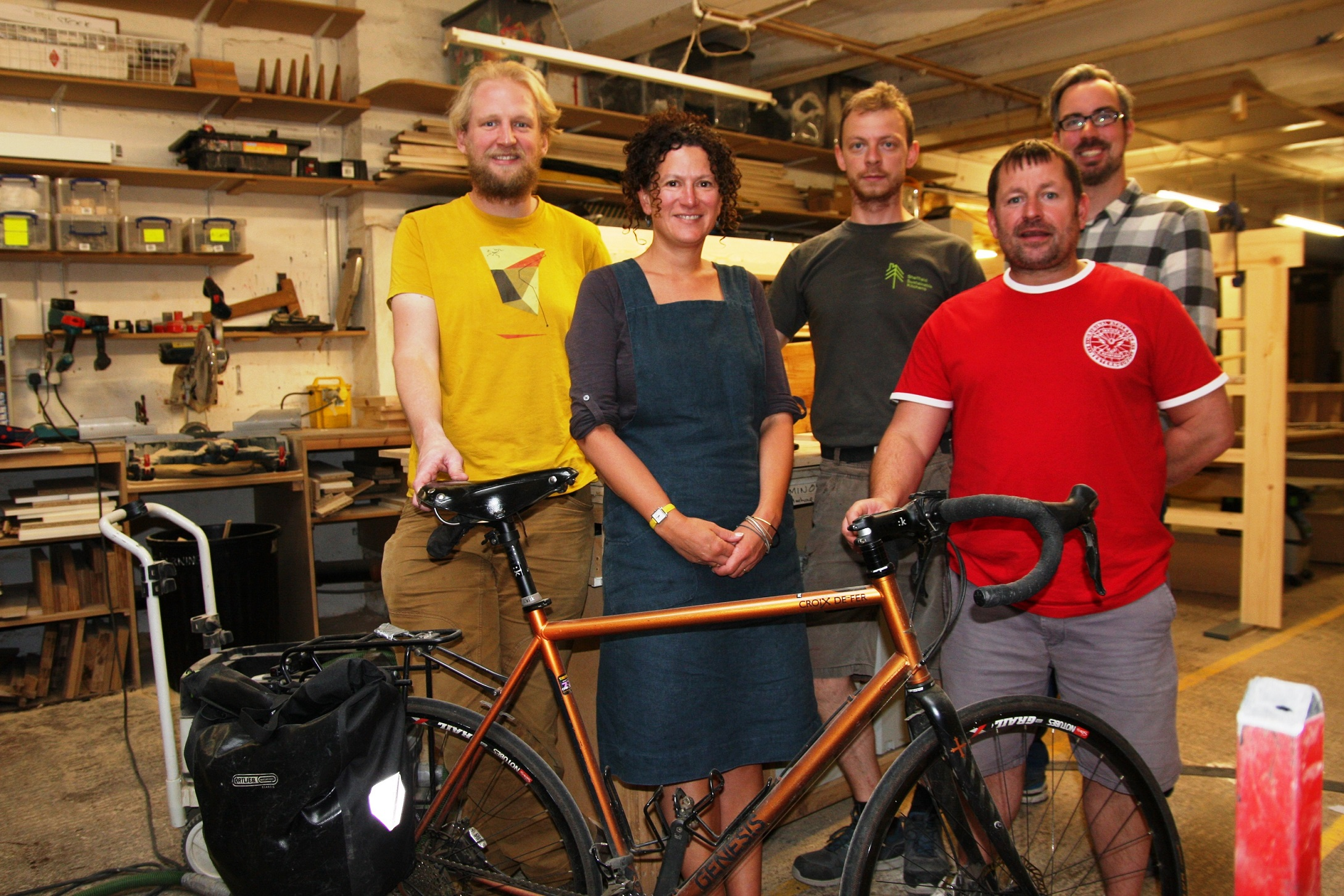 Kitchen firm gets entire workforce pedalling for Cycle September