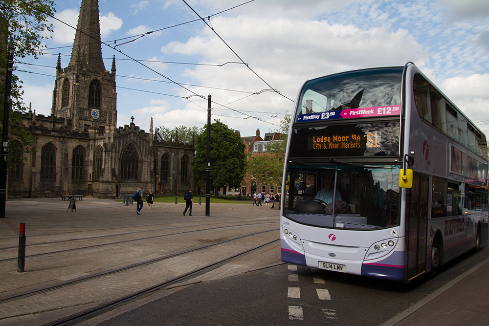 Sheffield Bus Partnership shortlisted for transport award