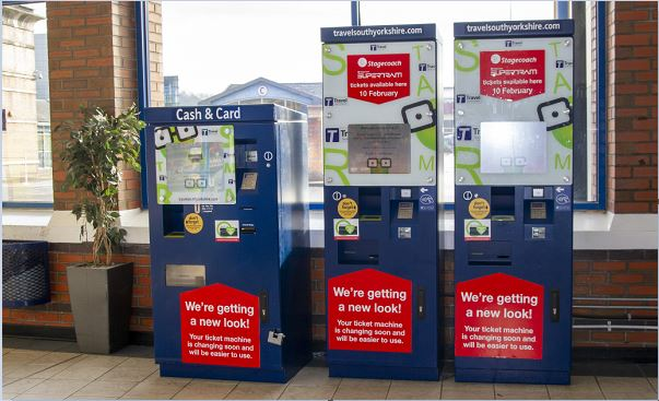 Upgraded ticket machines make it easier, quicker and cheaper to buy tickets for South Yorkshire travel