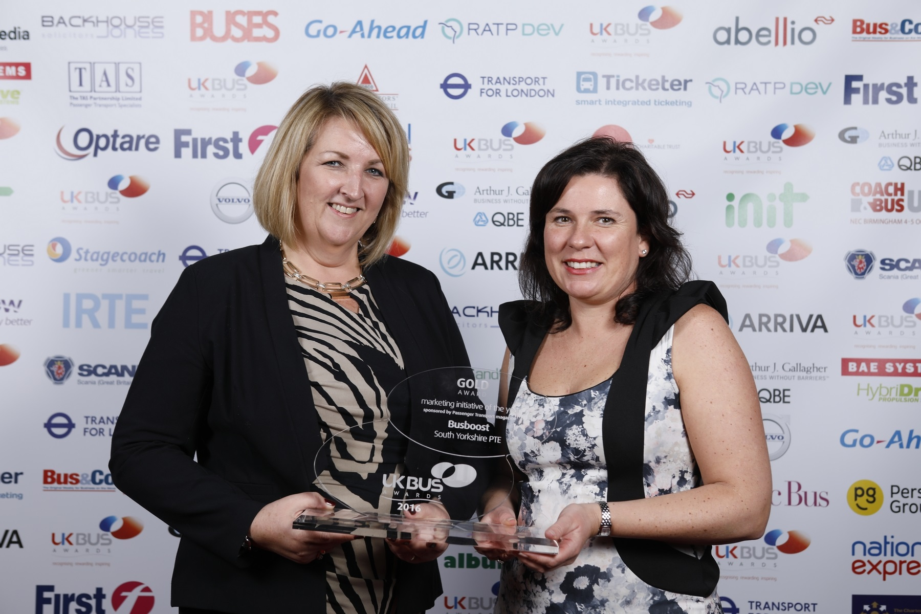 Inmotion! named winner of Marketing Initiative of the Year award at UK Bus Awards