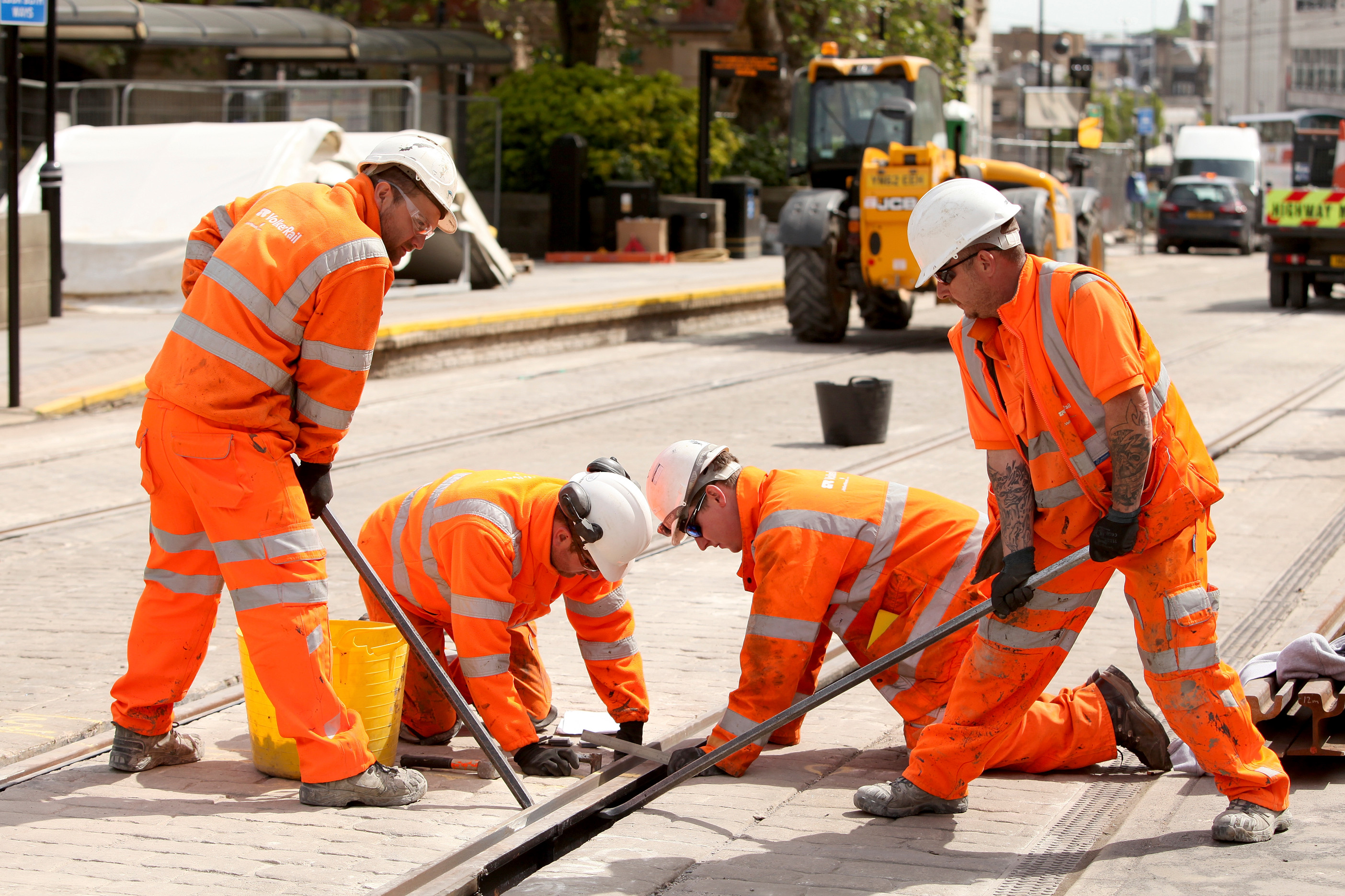 Supertram rail replacement reaches final stage