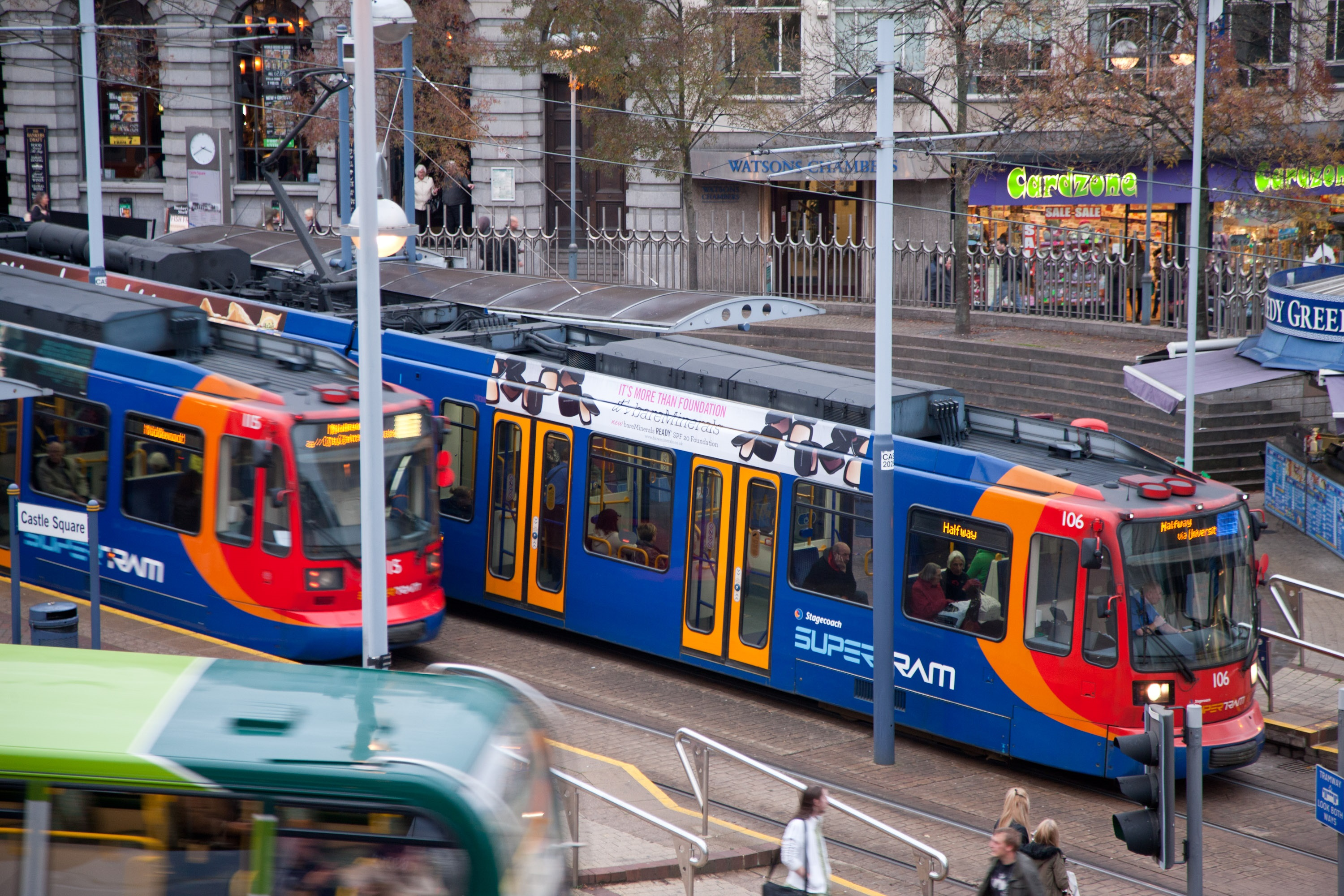 Engineering works planned on Supertram network in late April