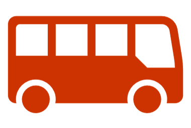 graphic of a bus