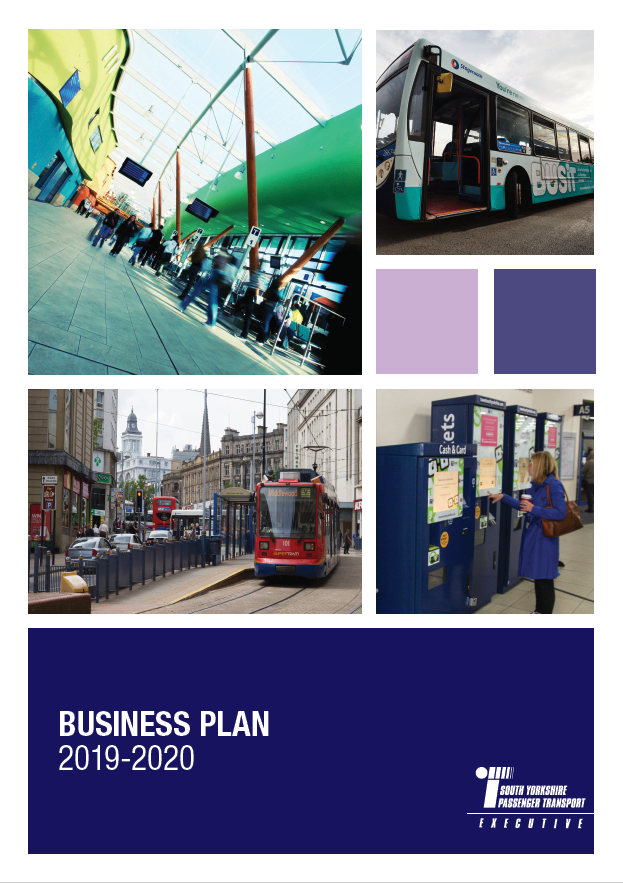 Front cover of Internal Business Plan Document