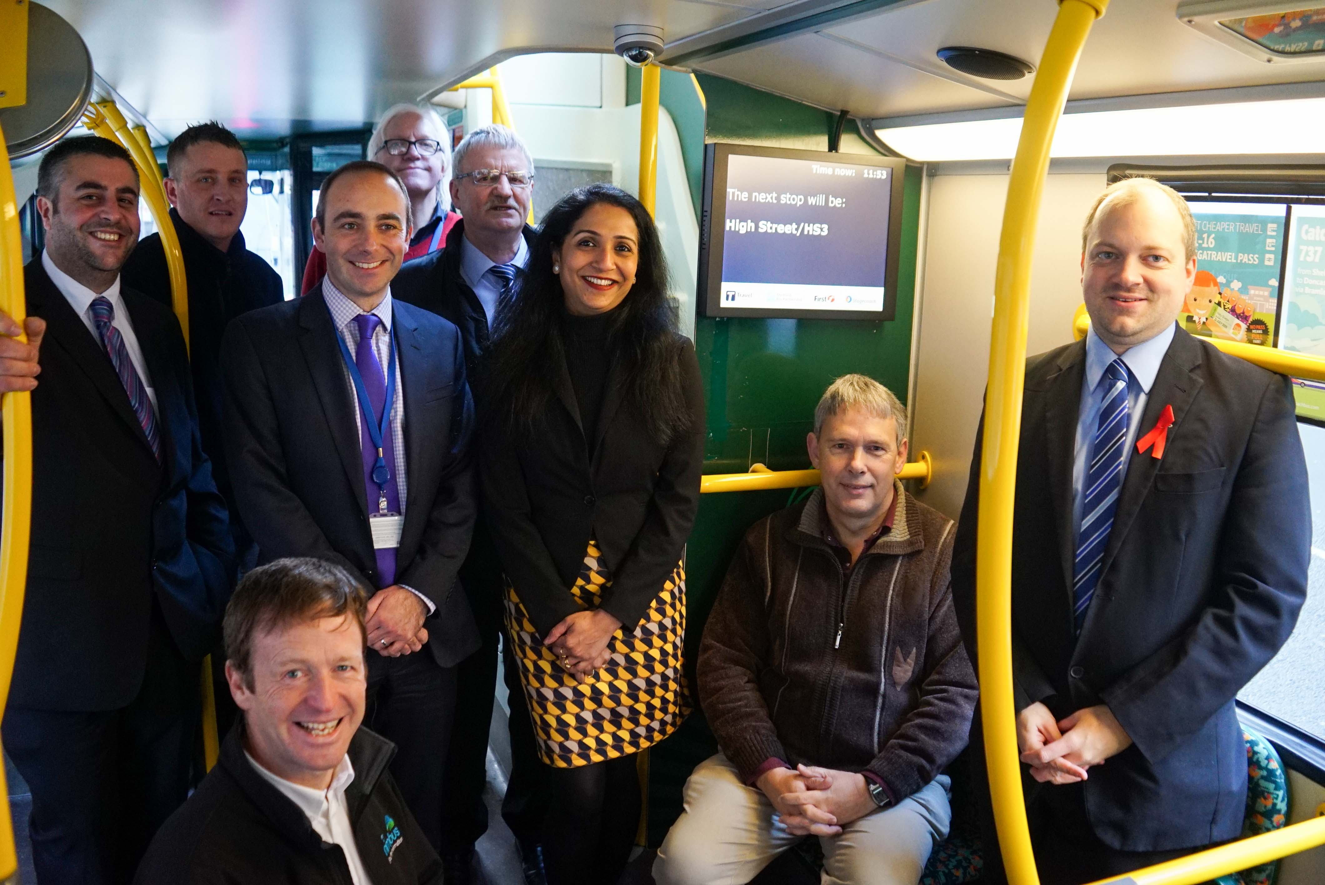 Talking Buses come to Sheffield